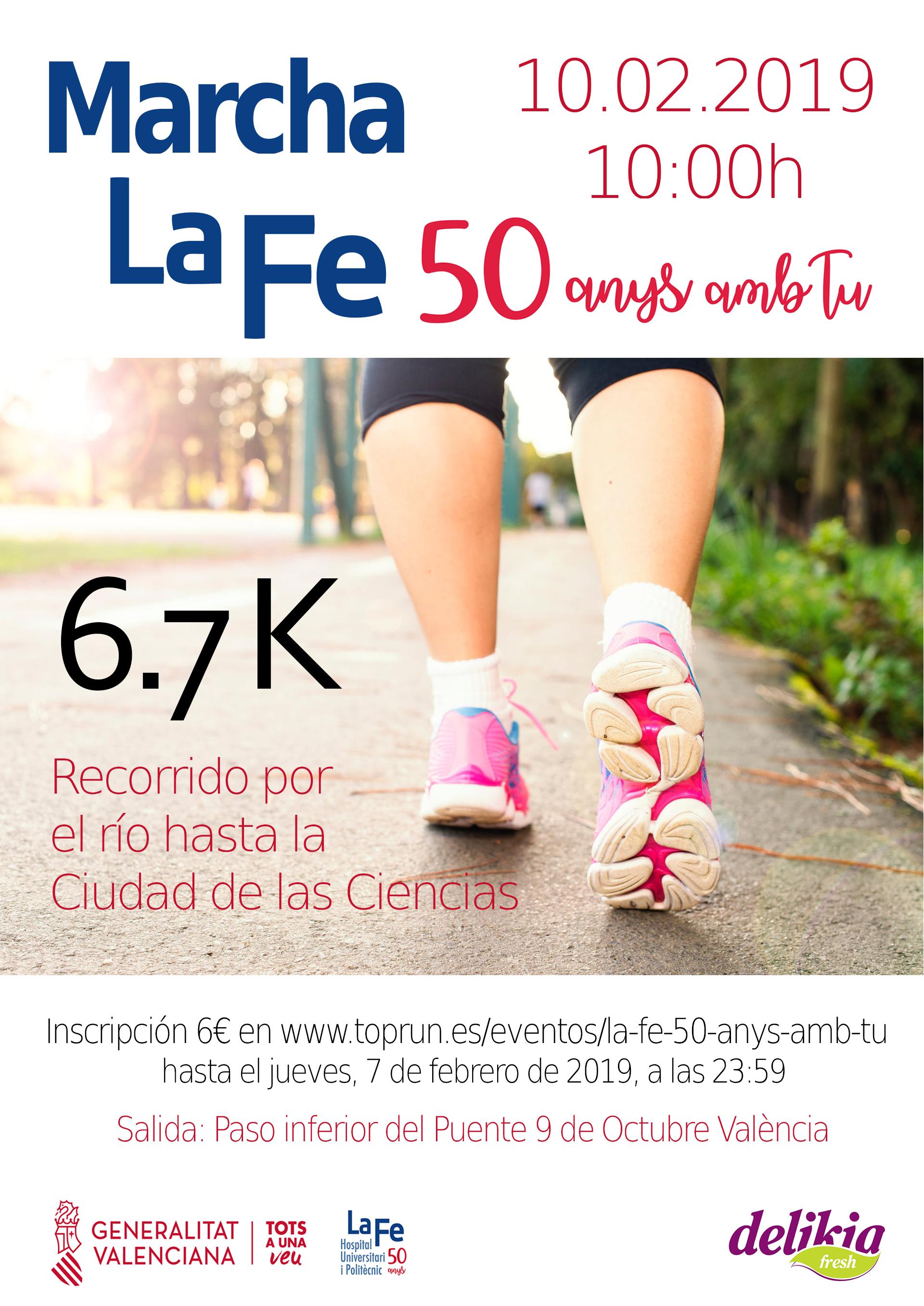 Marcha La Fe 50 anys amb tu