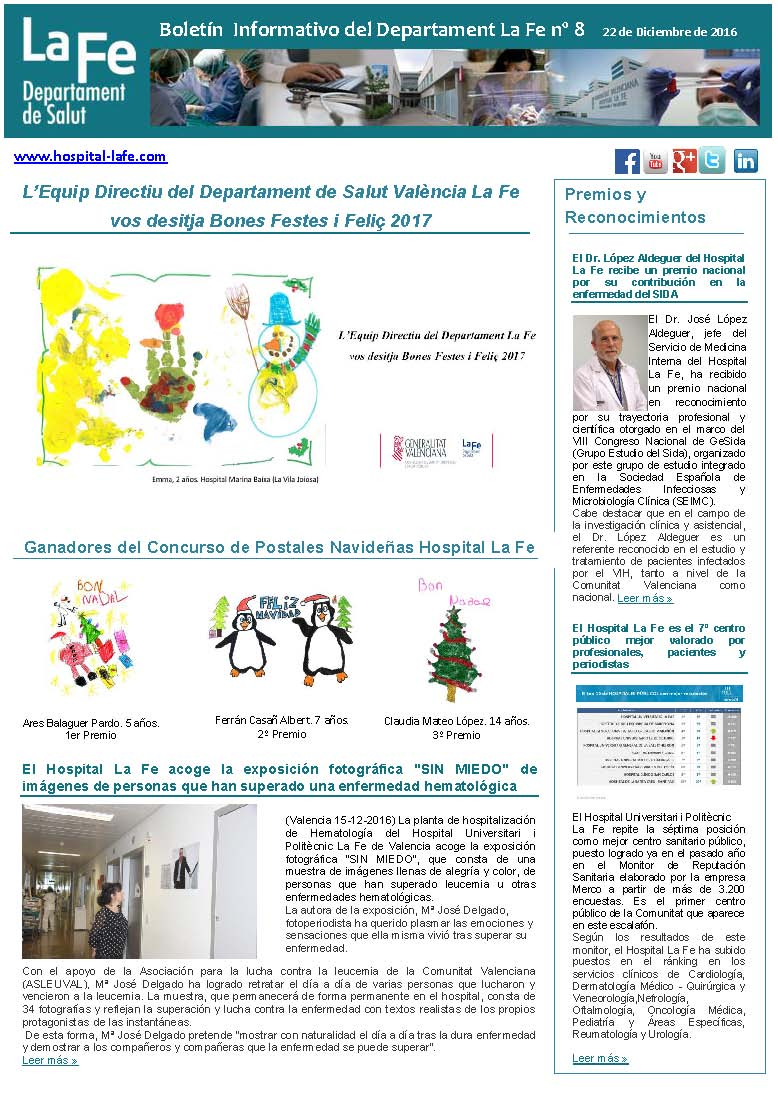 Boletín Informativo La Fe n.8