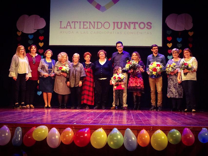 Premio Latiendo Juntos a equipo Cardiopatías Congénitas