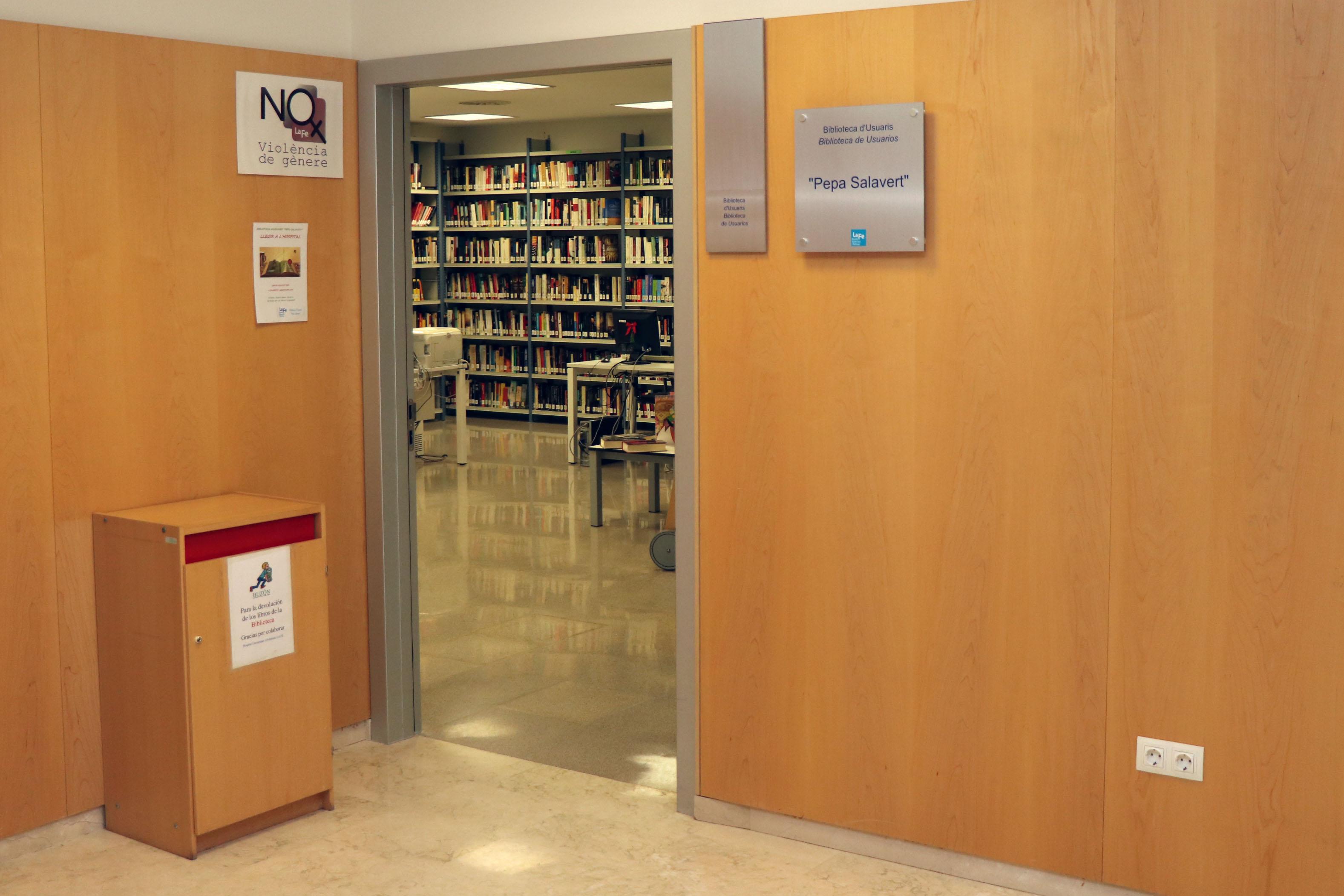 Entrada Biblioteca de Usuarios La Fe