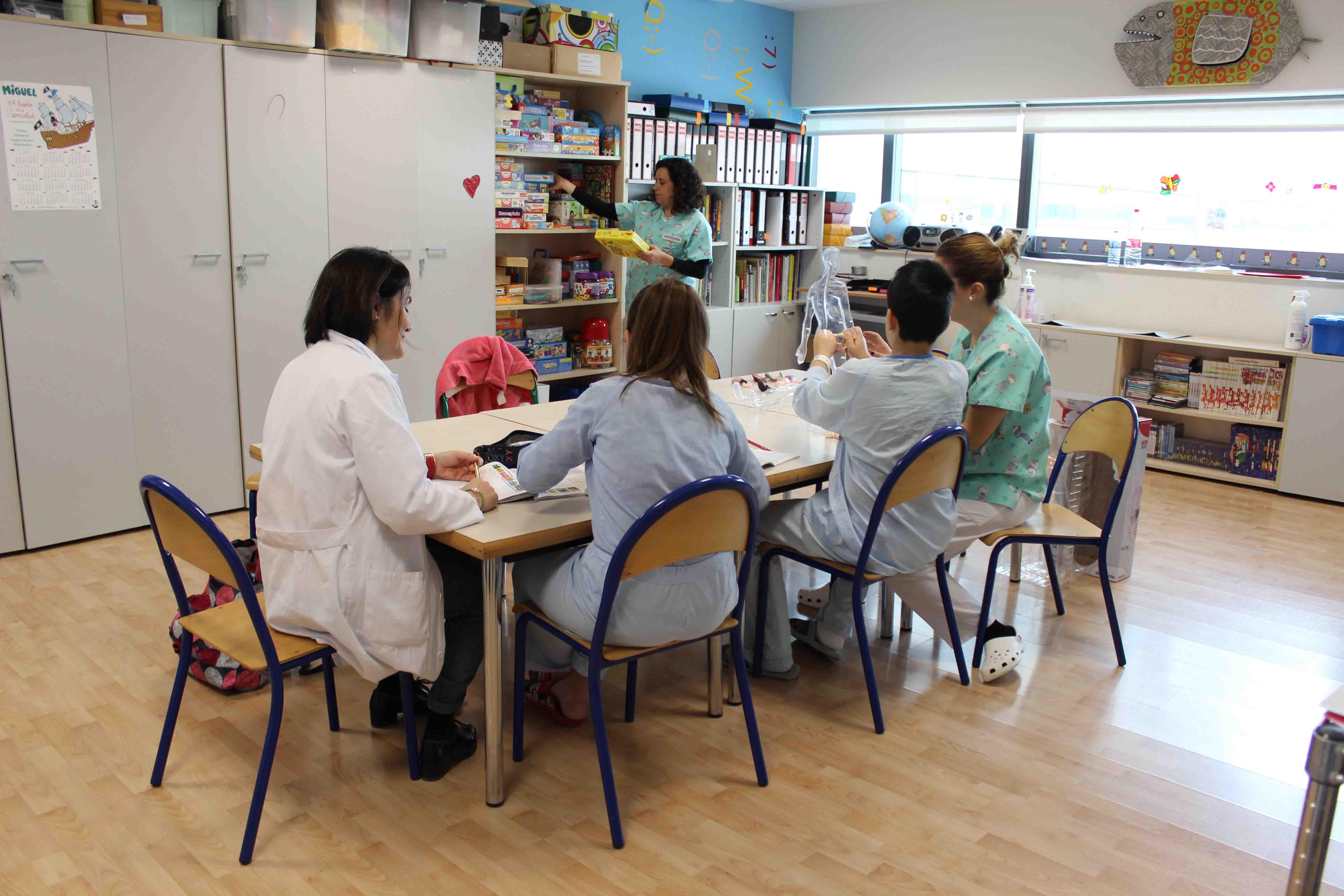 Unitat Pedagògica Hospitalària La Fe UPH