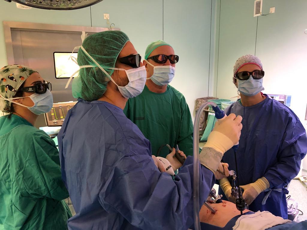 Primer explante hepático de donante vivo